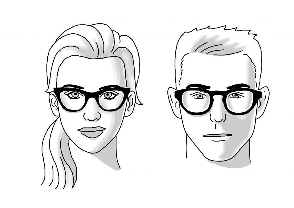 Hear Shaped Face Glasses | James Bensen